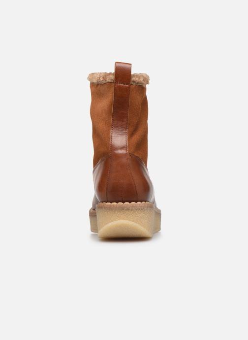 Bottines et boots Schmoove Woman Pallas Ranger Marron vue droite