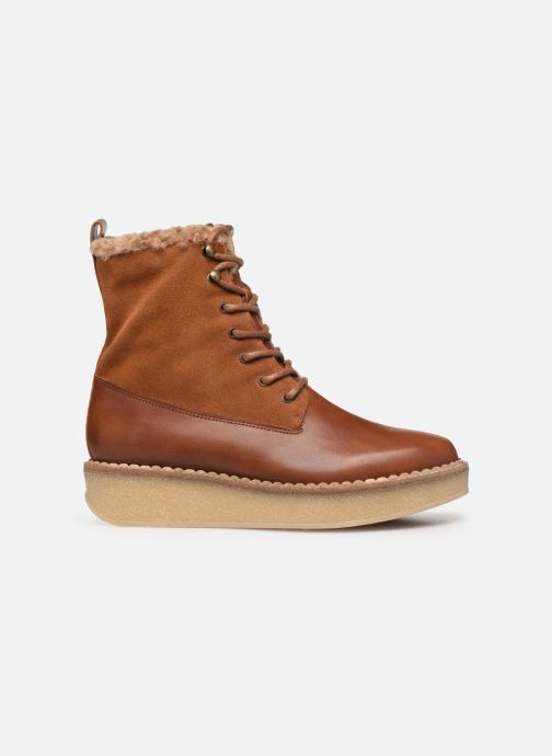 Ankle boots Schmoove Woman Pallas Ranger Brown back view