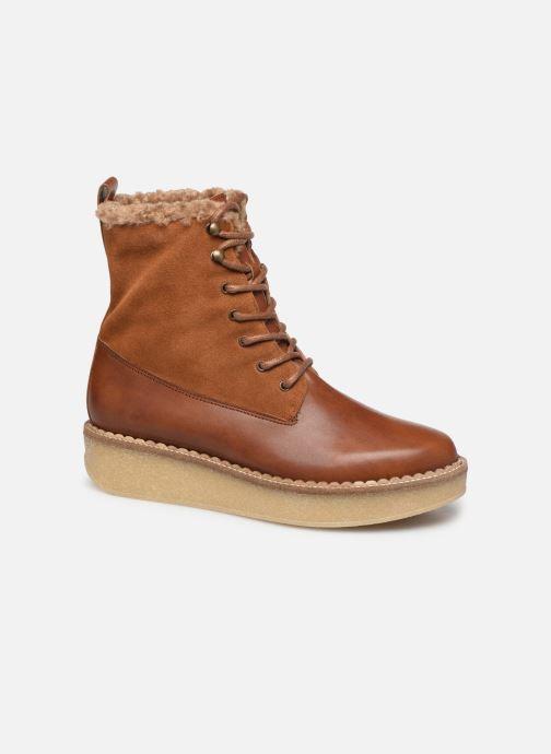 Bottines et boots Schmoove Woman Pallas Ranger Marron vue détail/paire