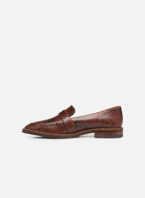 Loafers Schmoove Woman Call Moc Brown front view