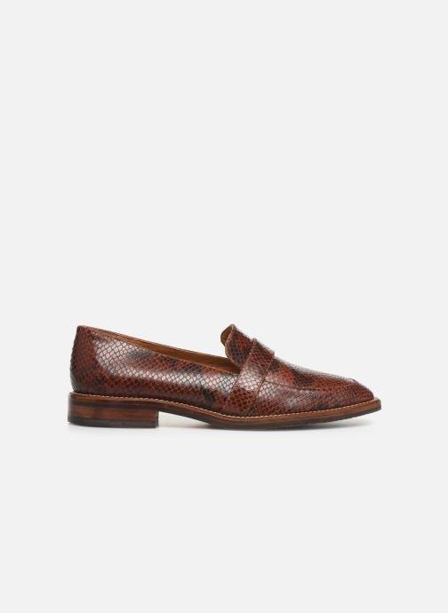 Loafers Schmoove Woman Call Moc Brown back view