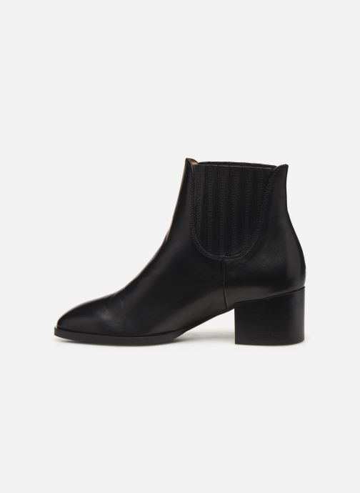 Bottines et boots Schmoove Woman Glory Chelsea Noir vue face