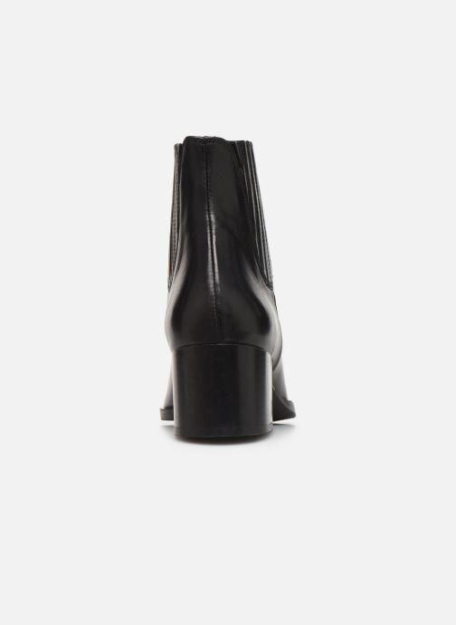 Bottines et boots Schmoove Woman Glory Chelsea Noir vue droite