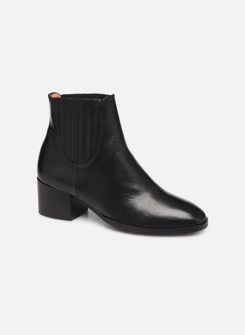 Bottines et boots Schmoove Woman Glory Chelsea Noir vue détail/paire