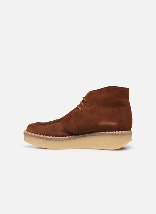 Ankle boots Schmoove Woman Pallas Desert Brown front view