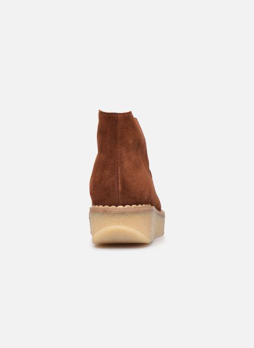 Bottines et boots Schmoove Woman Pallas Desert Marron vue droite