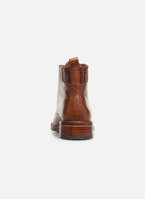 Ankle boots Schmoove Woman Candide Desert Boots Brown view from the right