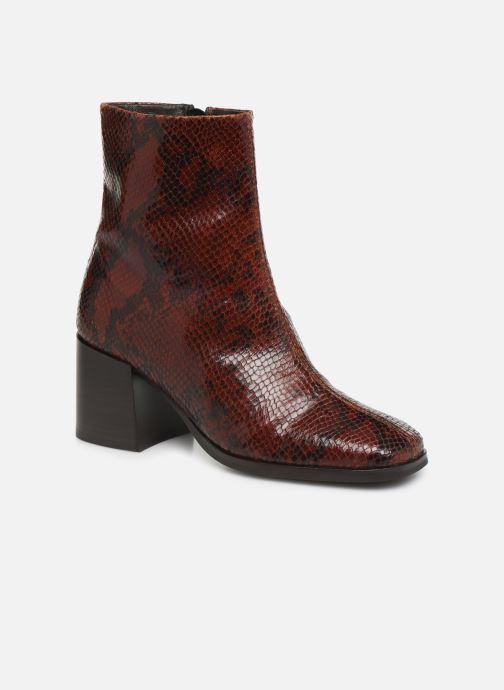 Bottines et boots Schmoove Woman Rita Boots Rouge vue détail/paire