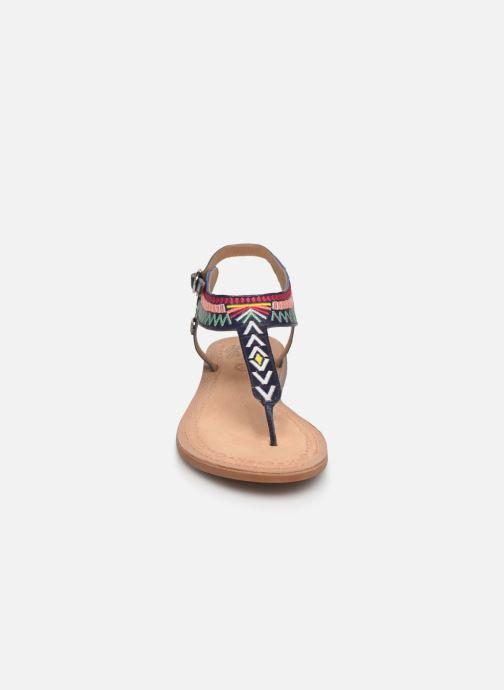Sandals Initiale Paris Edi Blue model view