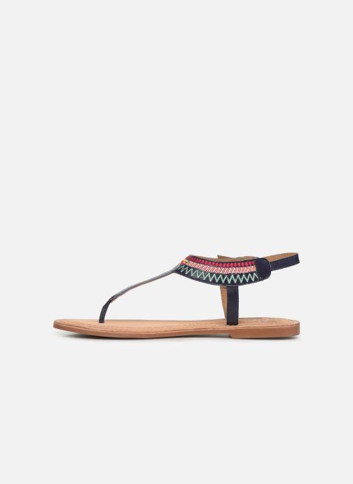Sandals Initiale Paris Edi Blue front view