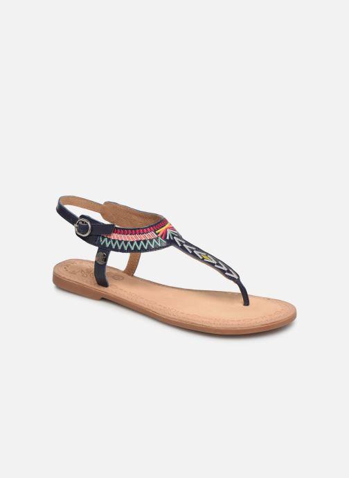 Sandals Initiale Paris Edi Blue detailed view/ Pair view
