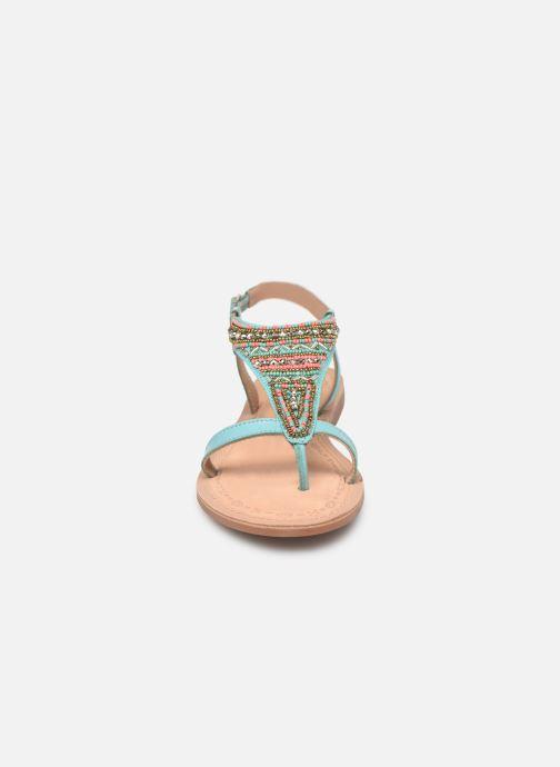 Sandales et nu-pieds Initiale Paris Enola Bleu vue portées chaussures