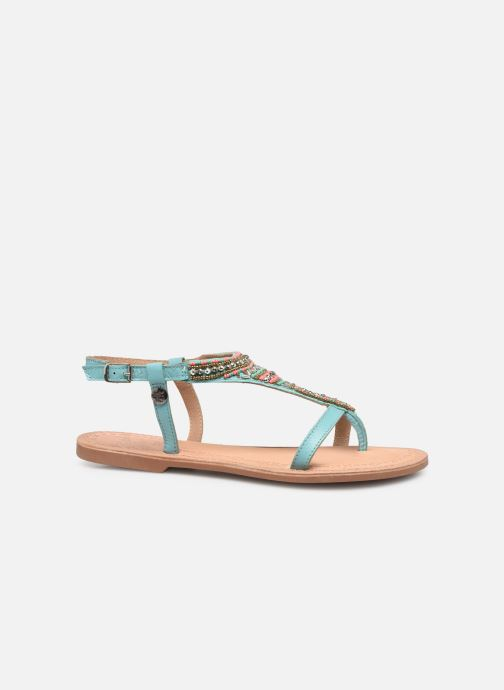 Sandales et nu-pieds Initiale Paris Enola Bleu vue derrière