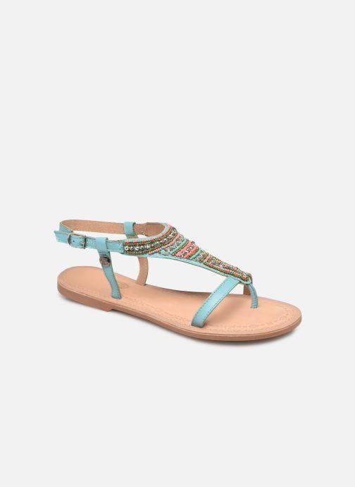 Sandales et nu-pieds Initiale Paris Enola Bleu vue détail/paire