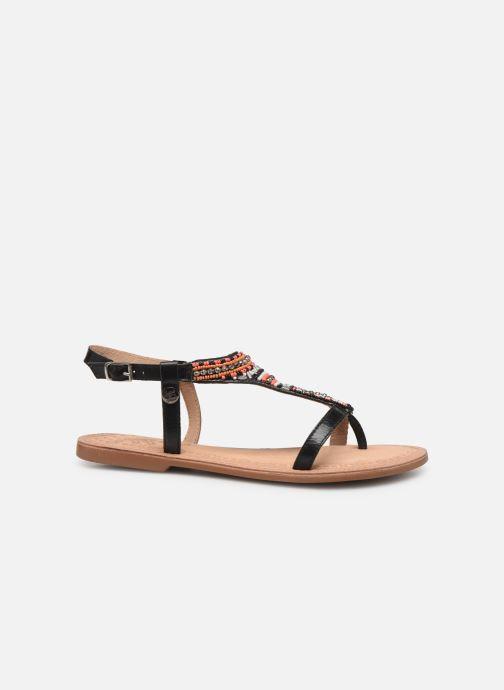 Sandales et nu-pieds Initiale Paris Enola Noir vue derrière