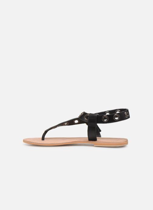 Sandales et nu-pieds Initiale Paris Maddie Noir vue face