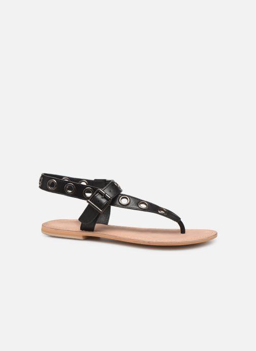 Sandales et nu-pieds Initiale Paris Maddie Noir vue derrière