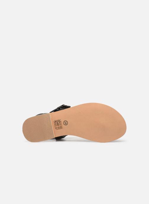 Sandales et nu-pieds Initiale Paris Maddie Noir vue haut