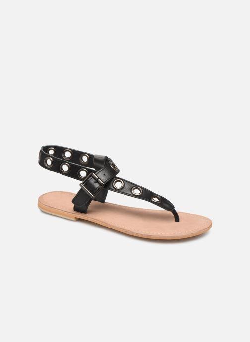 Sandales et nu-pieds Initiale Paris Maddie Noir vue détail/paire