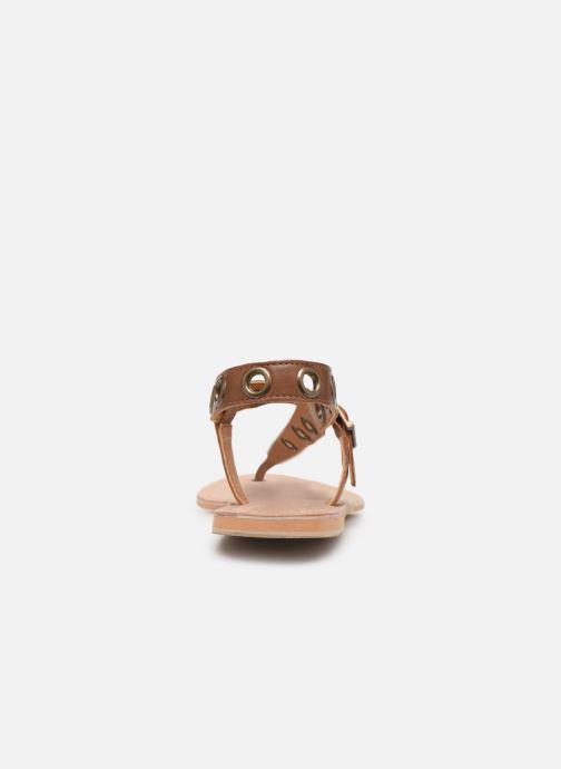 Sandali e scarpe aperte Initiale Paris Maddie Marrone immagine destra