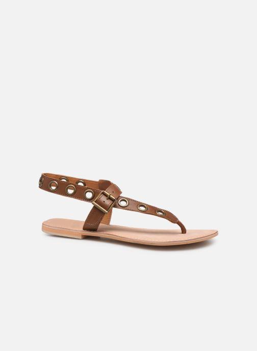 Sandali e scarpe aperte Initiale Paris Maddie Marrone immagine posteriore