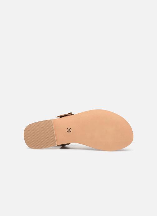Sandali e scarpe aperte Initiale Paris Maddie Marrone immagine dall'alto