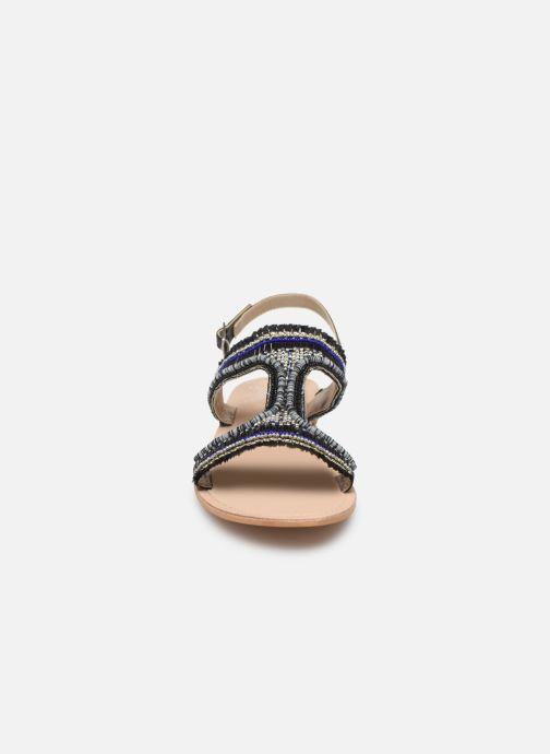 Sandalen Initiale Paris Malicia schwarz schuhe getragen