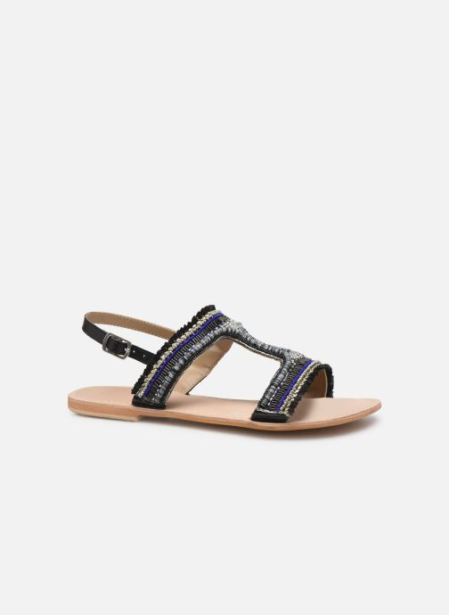 Sandalen Initiale Paris Malicia schwarz ansicht von hinten