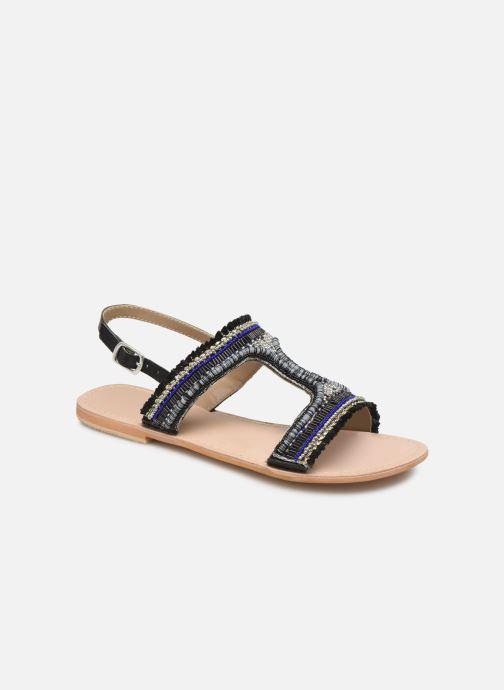Sandalen Initiale Paris Malicia schwarz detaillierte ansicht/modell