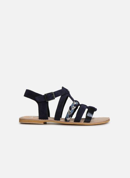Sandales et nu-pieds Initiale Paris Maya Bleu vue derrière