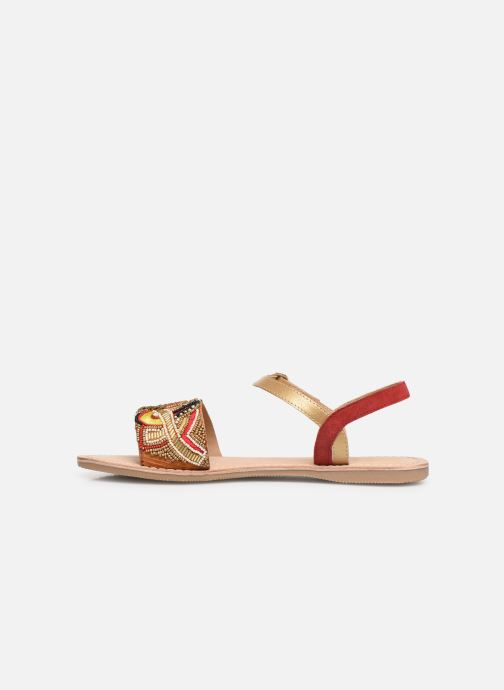 Sandales et nu-pieds Initiale Paris Nanako Rouge vue face