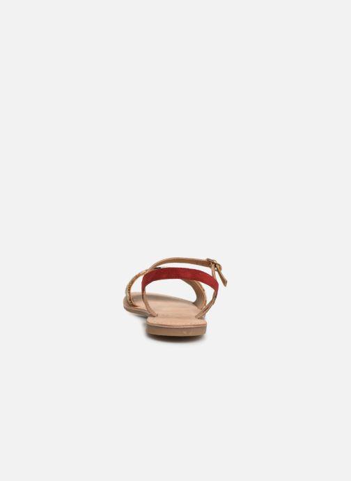 Sandales et nu-pieds Initiale Paris Nanako Rouge vue droite