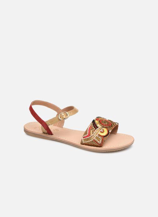 Sandales et nu-pieds Initiale Paris Nanako Rouge vue détail/paire