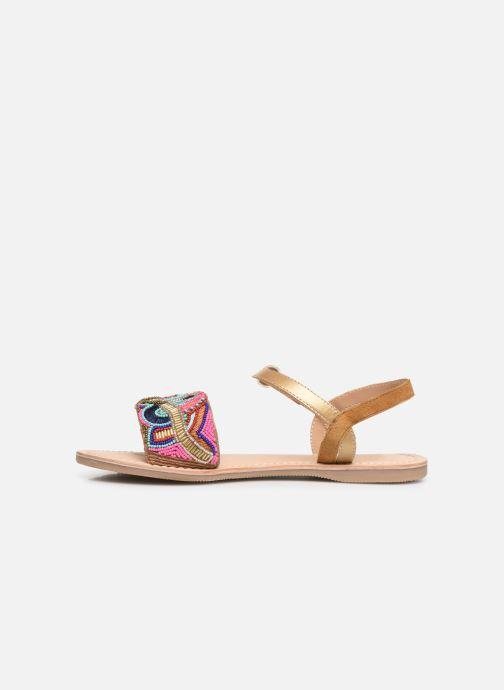 Sandales et nu-pieds Initiale Paris Nanako Multicolore vue face