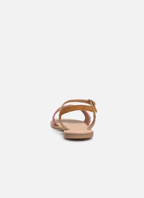 Sandales et nu-pieds Initiale Paris Nanako Multicolore vue droite