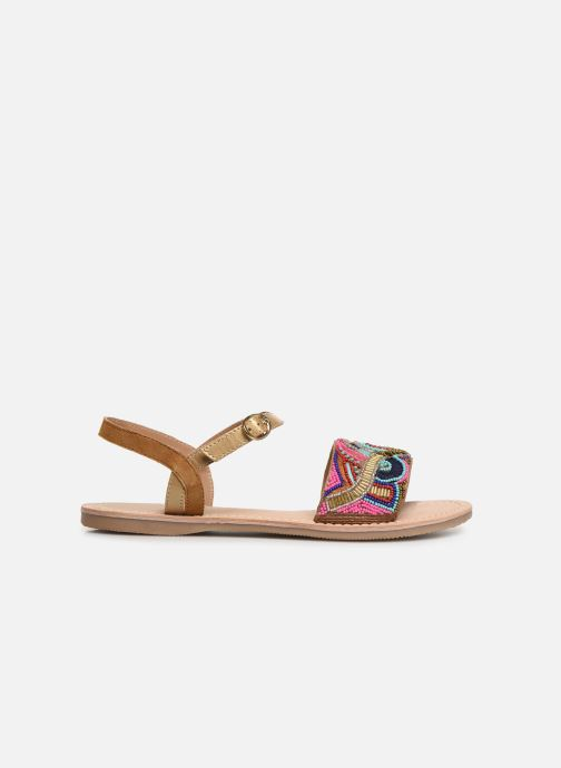 Sandales et nu-pieds Initiale Paris Nanako Multicolore vue derrière