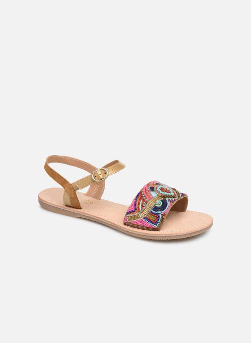 Sandales et nu-pieds Initiale Paris Nanako Multicolore vue détail/paire