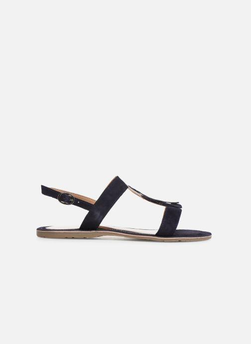 Sandales et nu-pieds Initiale Paris Nancy Bleu vue derrière