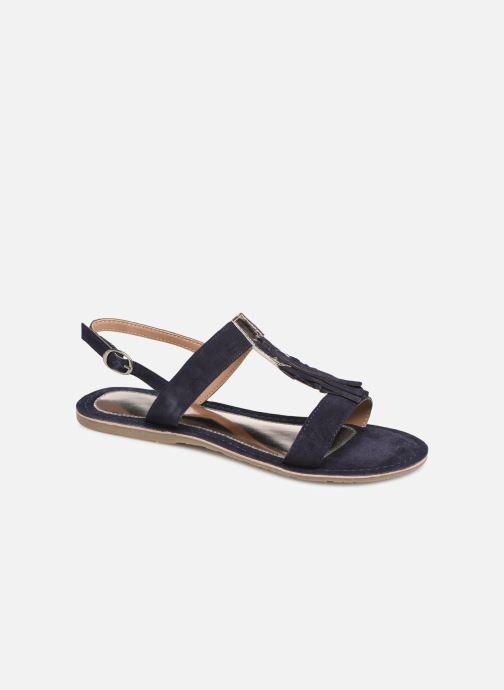Sandalen Initiale Paris Nancy Blauw detail