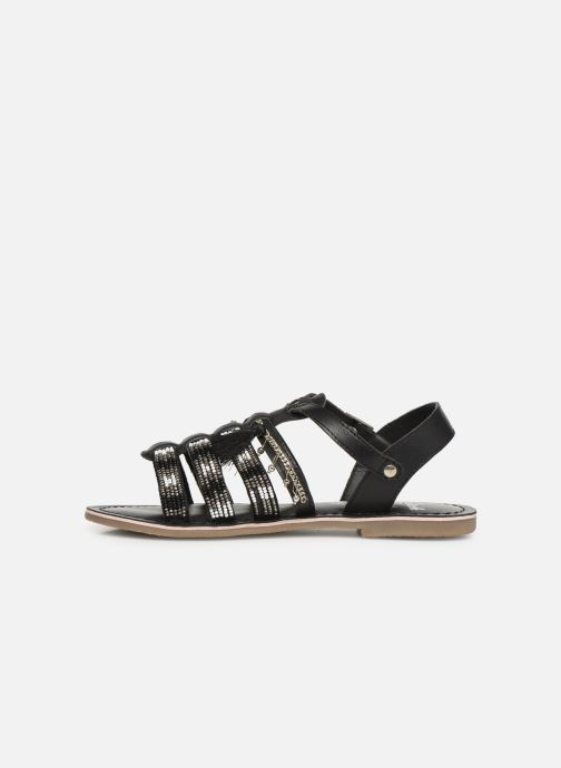 Sandals Initiale Paris Nastasia Black front view
