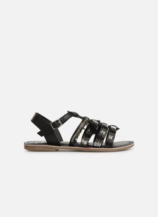 Sandalen Initiale Paris Nastasia schwarz ansicht von hinten