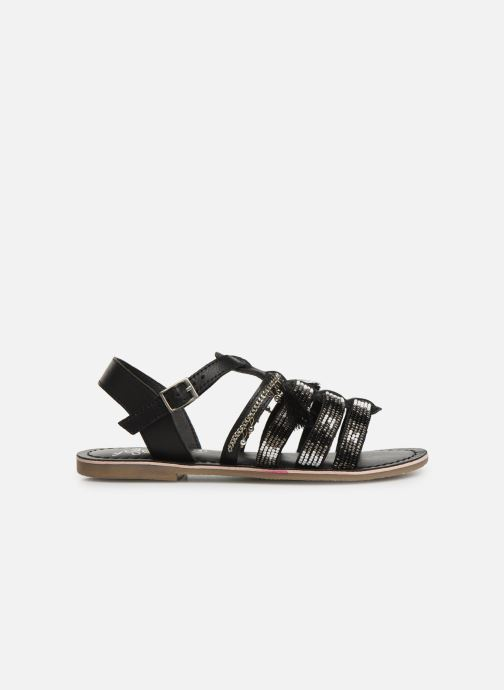 Sandals Initiale Paris Nastasia Black back view