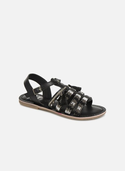 Sandals Initiale Paris Nastasia Black detailed view/ Pair view