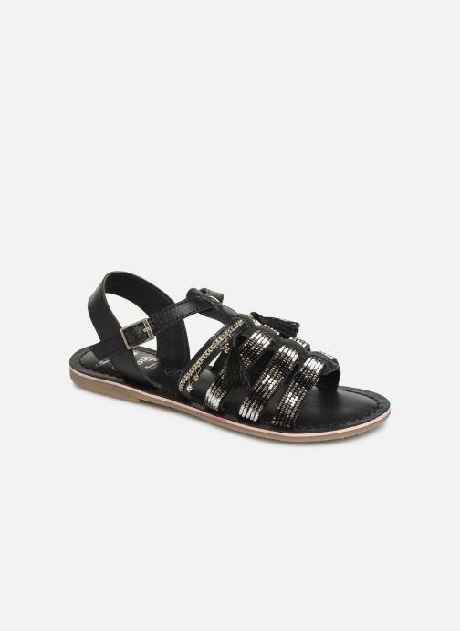 Sandaler Initiale Paris Nastasia Sort detaljeret billede af skoene