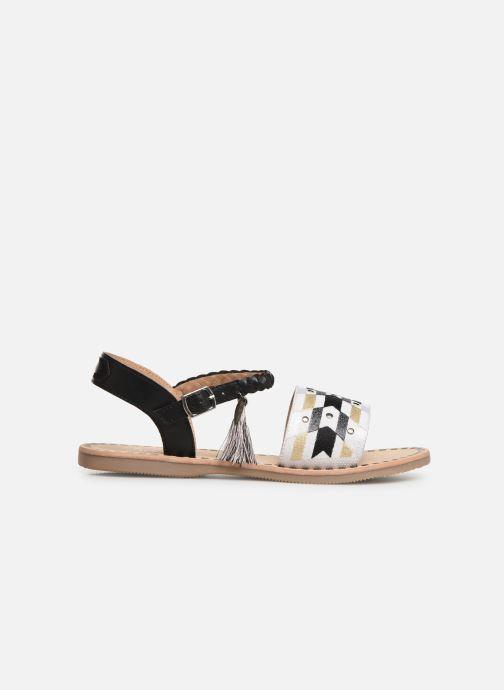 Sandales et nu-pieds Initiale Paris Navya Noir vue derrière