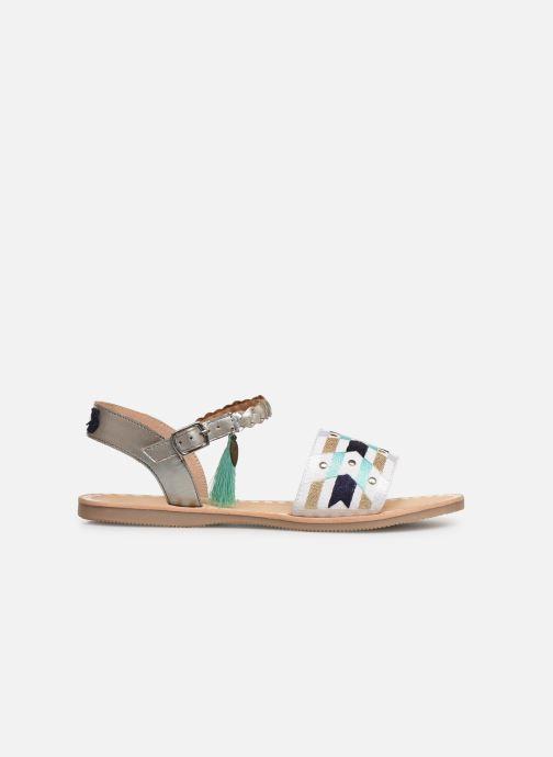 Sandales et nu-pieds Initiale Paris Navya Argent vue derrière