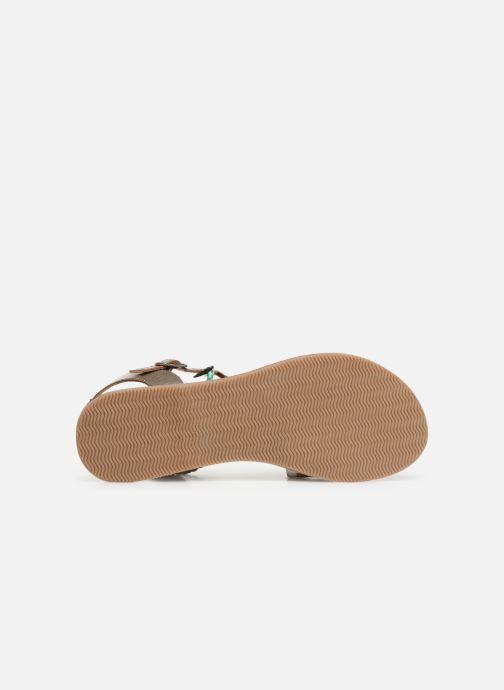 Sandalen Initiale Paris Navya Zilver boven