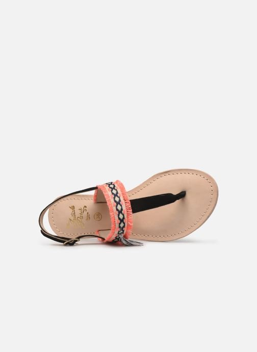 Sandalen Initiale Paris Nessia Zwart links