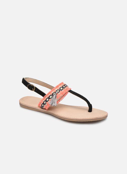 Sandalen Initiale Paris Nessia Zwart detail