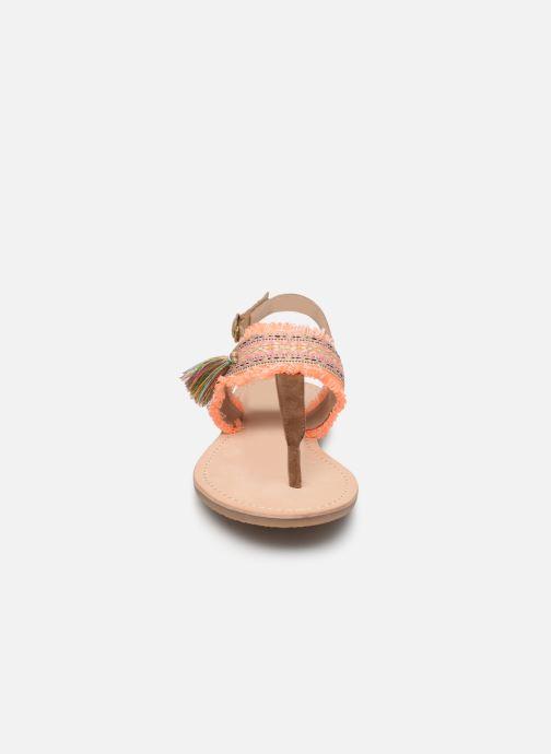 Sandali e scarpe aperte Initiale Paris Nessia Marrone modello indossato